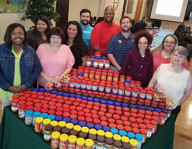 CF Gives Back Peanut Butter Drive