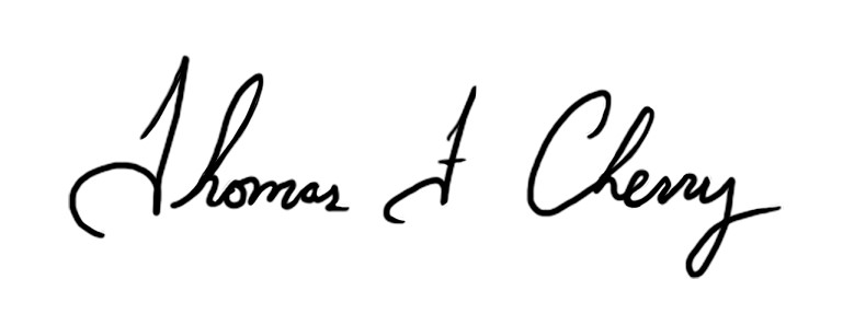 Tom Cherry Signature